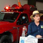 EL GOBERNADOR DE RISARALDA HIZO ENTREGA DE UNA MODERNA ESTACIÓN DE BOMBEROS EN EL MUNICIPIO DE LA CELIA