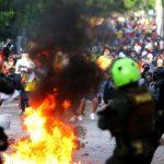 11 HERIDOS DEJAN LOS DISTURBIOS A LAS AFUERAS DEL ESTADIO EN BARRANQUILLA
