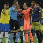CONMEBOL DEFIENDE A PITANA Y FCF PIDE SUSPENCIÓN DE ARBITROS DEL PARTIDO COLOMBIA vs BRASIL